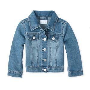 NWT Children's Place Toddler Girl Denim Jacket 4T